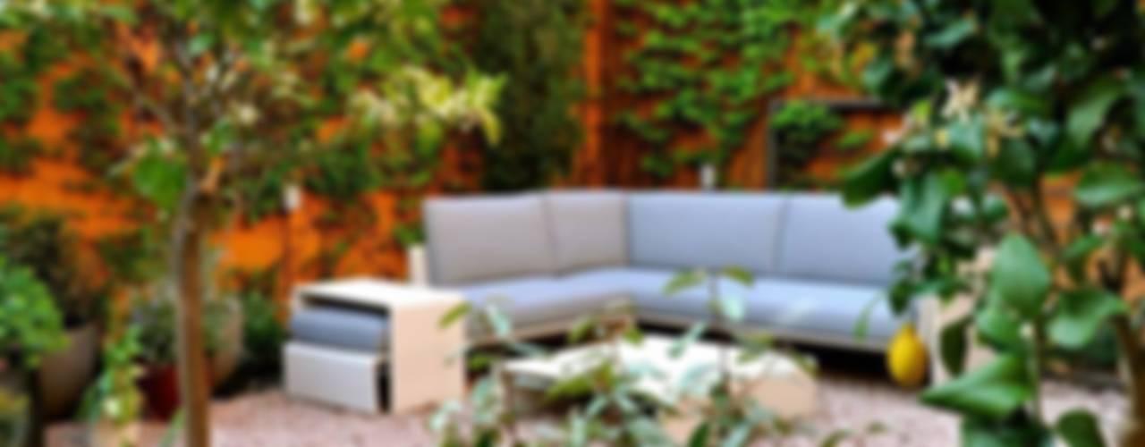 Jardin de style  par ésverd - jardineria & paisatgisme, Éclectique