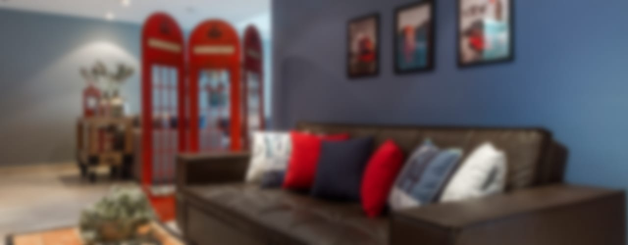 Медиа комната в стиле модерн от MARIANGEL COGHLAN Модерн