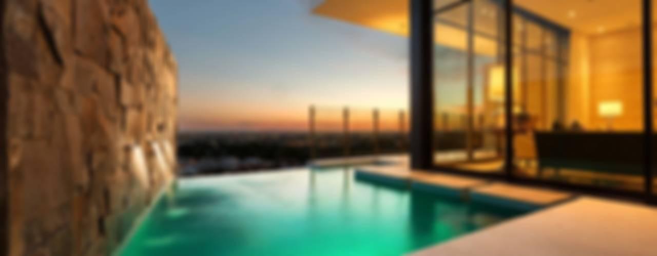 Piletas modernas: Ideas, imágenes y decoración de Imativa Arquitectos Moderno