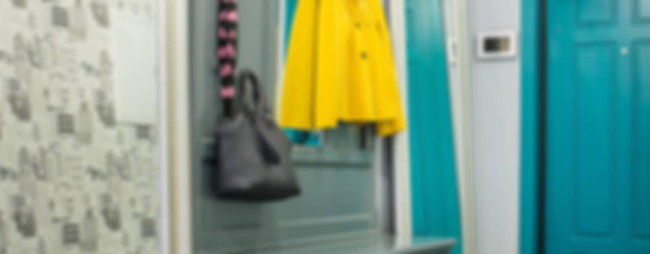 에클레틱 복도, 현관 & 계단 by Фотограф Анна Киселева 에클레틱 (Eclectic)