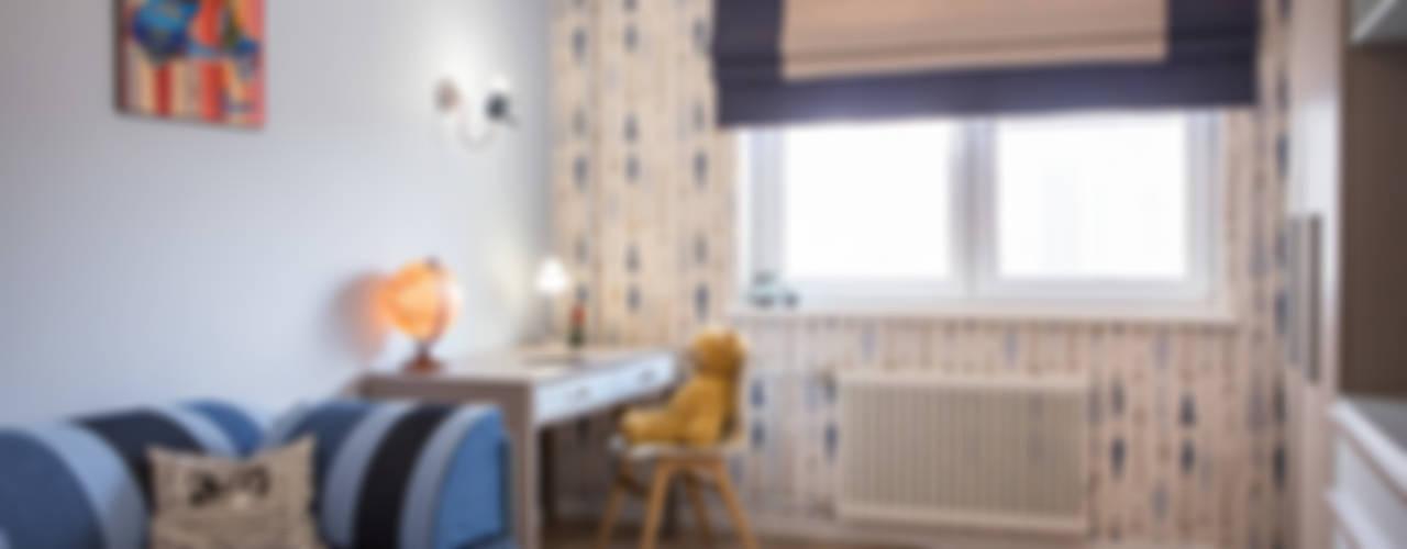 Квартира в Москве 100м2 (дизайнер Мария Соловьёва-Сосновик) Детская комнатa в скандинавском стиле от Фотограф Анна Киселева Скандинавский