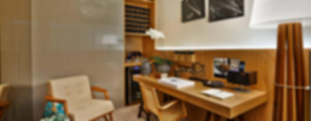 Study/office by Ana Paula Carneiro Arquitetura e Interiores,