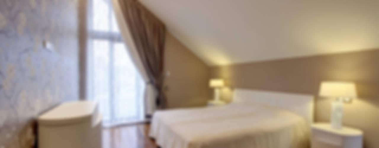"""Проект дома """"Классический модерн"""" Спальня в классическом стиле от Технологии дизайна Классический"""