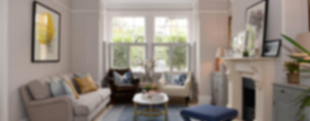 Family Home de Ruth Noble Interiors Clásico
