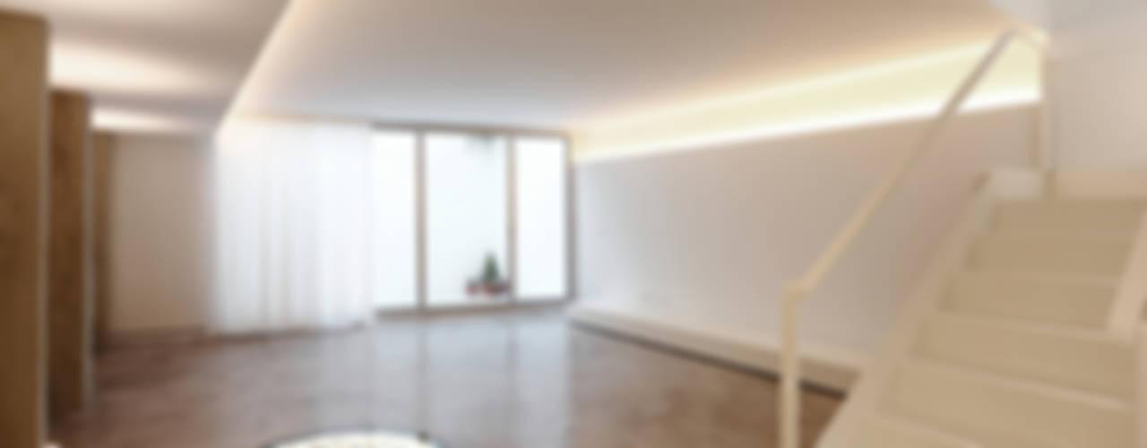 Casa #20 Salones de estilo clásico de RUE Clásico