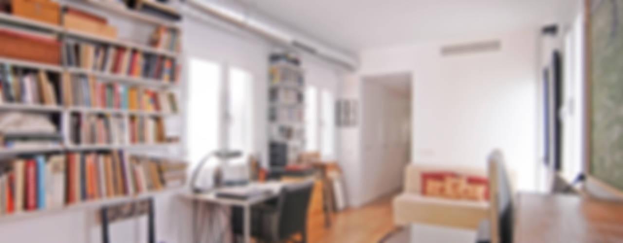 Loft en El Arenal Estudios y despachos de estilo industrial de CM4 Arquitectos Industrial
