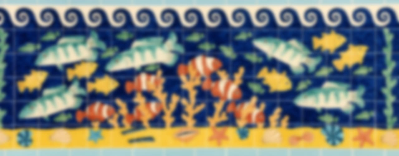 tropical  by Reptile tiles & ceramics, Tropical