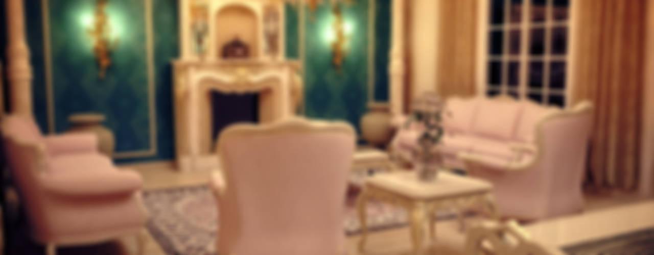 غرفة المعيشة تنفيذ Sonmez Mobilya Avantgarde Boutique Modoko, كلاسيكي