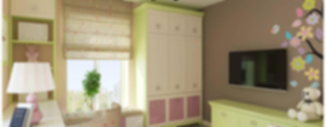 Dormitorios infantiles de estilo  por NK-Line. Creative Interior Design in Berlin.