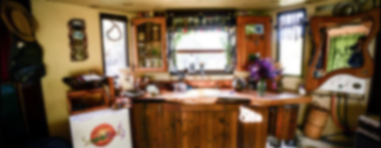Transforming Castle Truck Eclectic style kitchen by Living Big in a Tiny House Eclectic