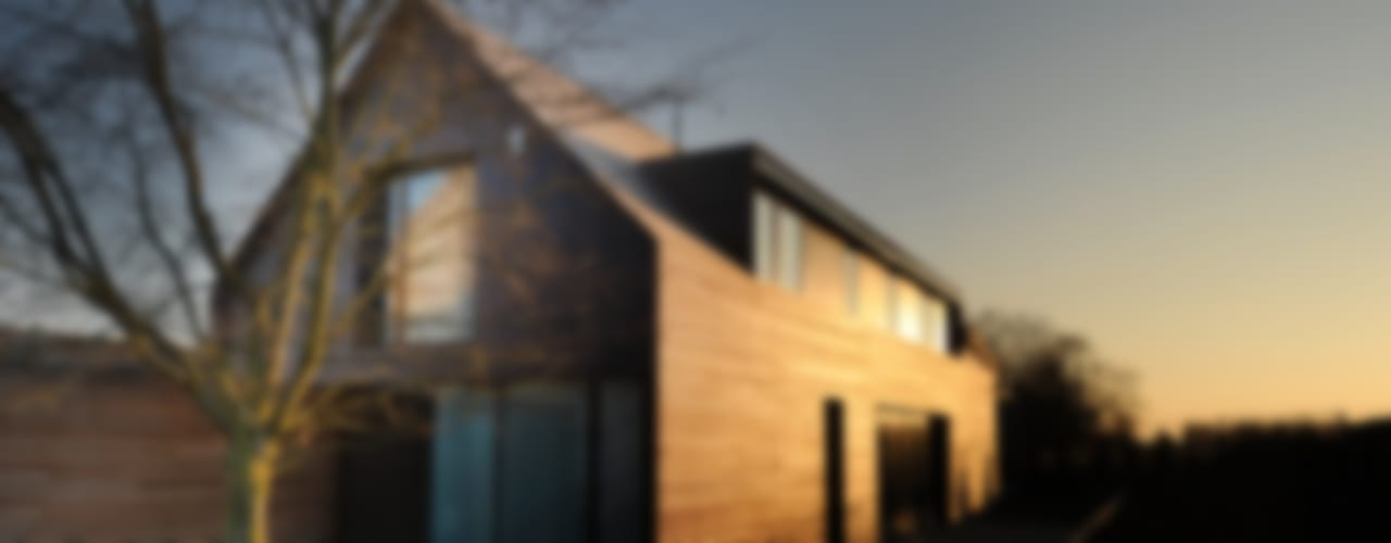 Casas de estilo  por STEINMETZDEMEYER architectes urbanistes