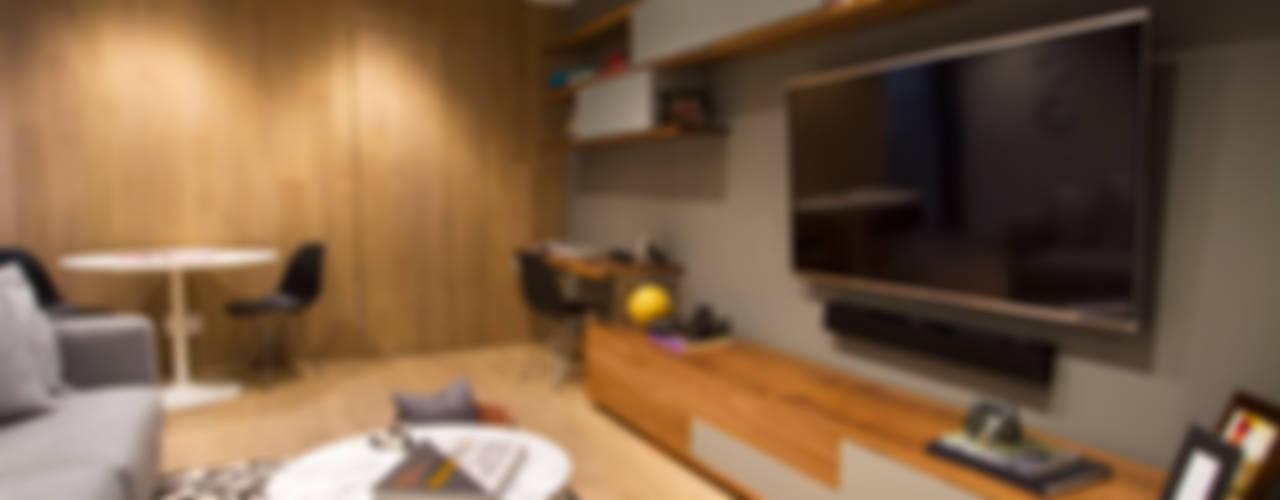 Departamento DG Salas multimedia modernas de Concepto Taller de Arquitectura Moderno