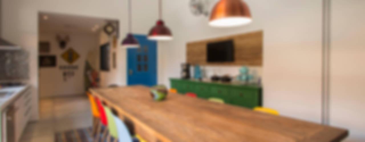 Cocinas de estilo rústico de Marcos Contrera Arquitetura & Interiores Rústico