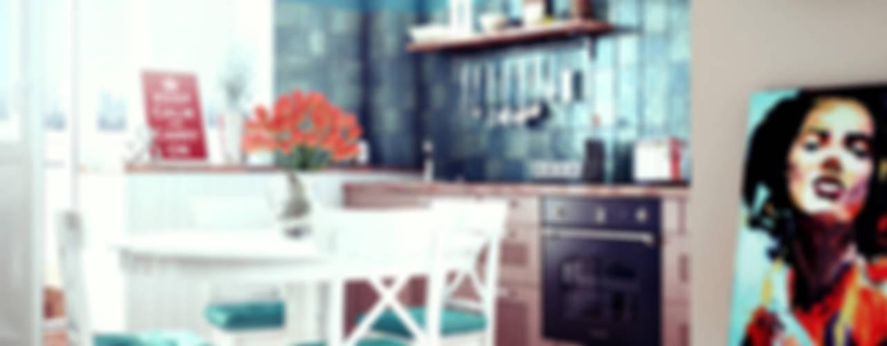 дизайн студии в скандинавском стиле: Кухни в . Автор – sreda