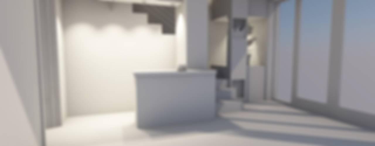 L'architecture c'est pour tous! Salon moderne par AeA - Architecture Eric Agro Moderne