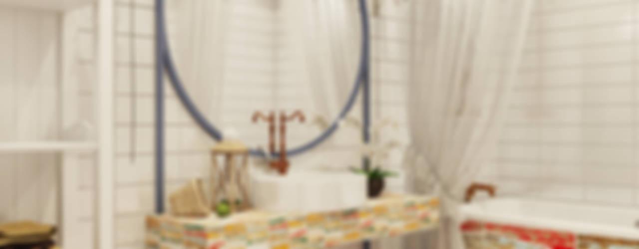 Микс фактуры и цвета Частный дизайнер и декоратор Девятайкина Софья Ванная комната в стиле модерн