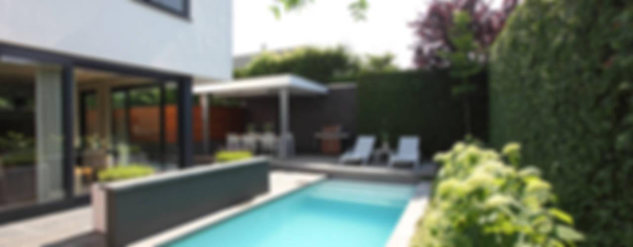 Zwembad In De Tuin.Kleine Tuin En Toch Een Zwembad