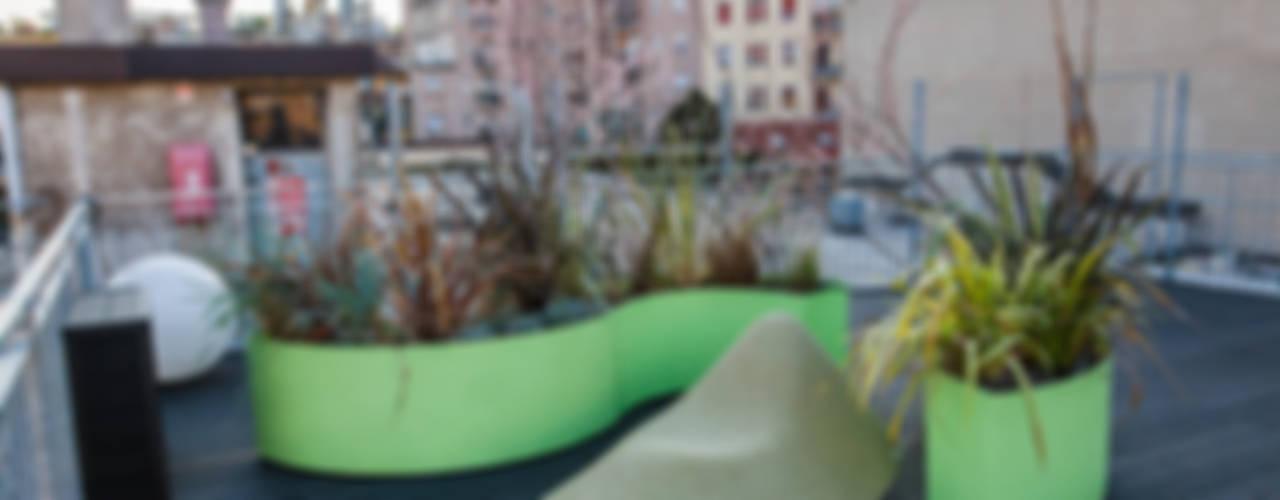Terrazza MiLoft Balcone, Veranda & Terrazza in stile eclettico di Floema srl Eclettico