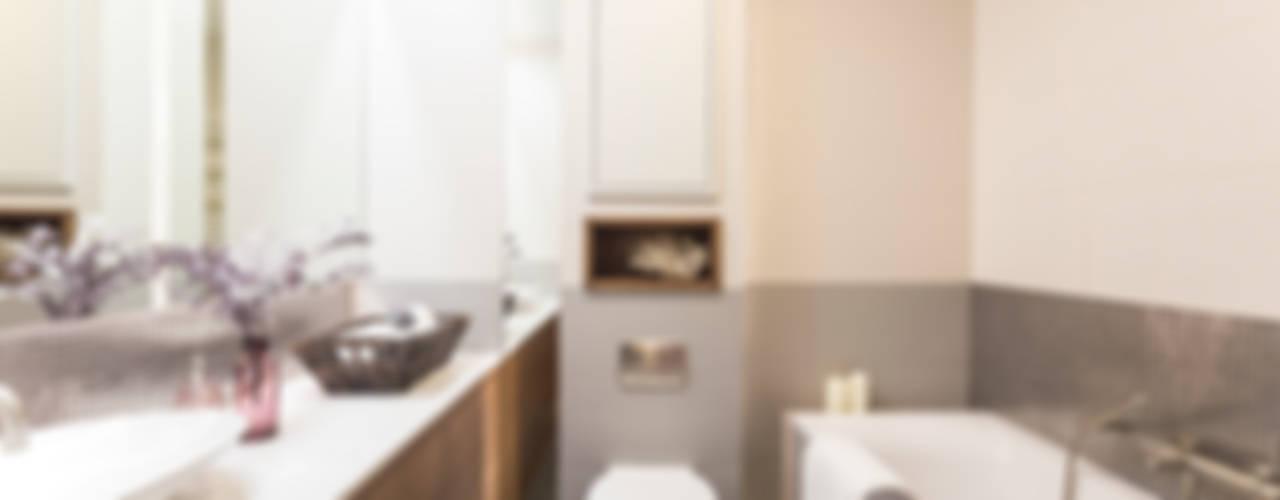 Mieszkanie - Warszawa - 45 m2: styl , w kategorii Łazienka zaprojektowany przez Mprojekt,