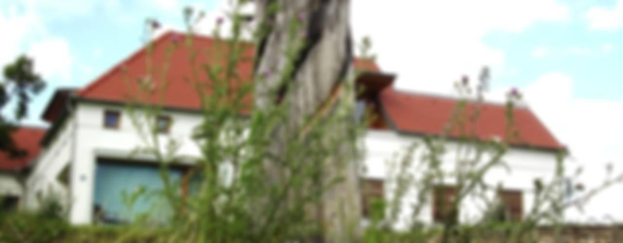Wohnhaus im Kamptal Garten im Landhausstil von baldassion architektur Landhaus