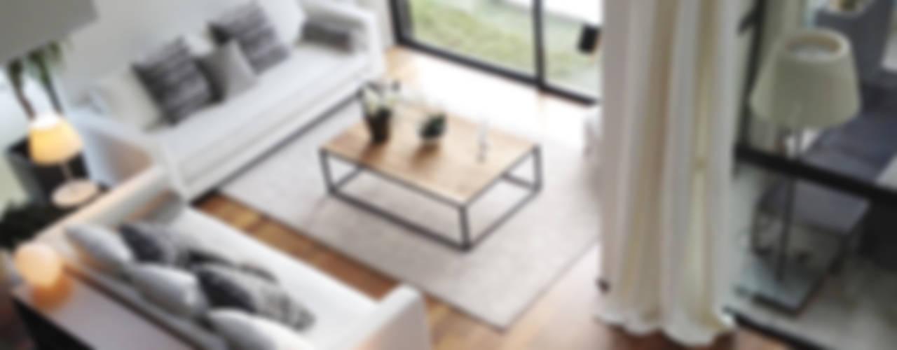 Eclectische woonkamers van Deu i Deu Eclectisch