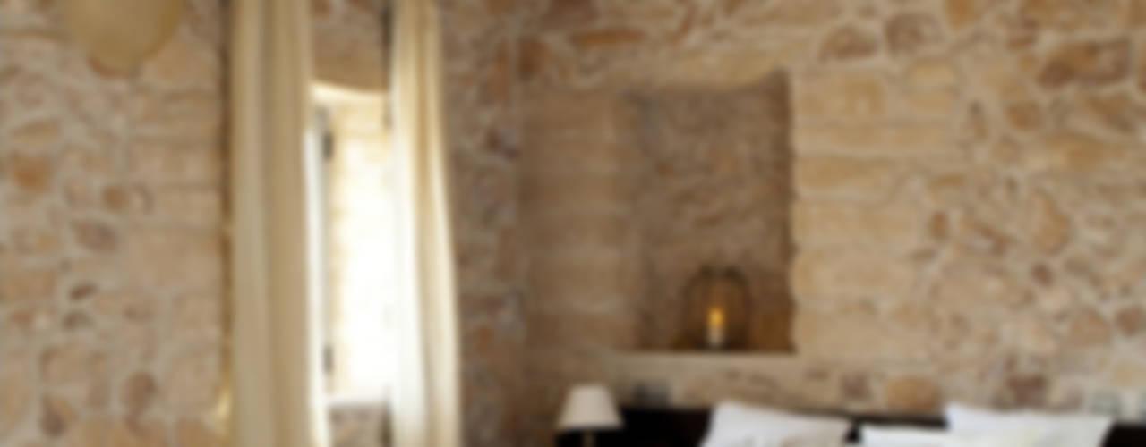 Rustic style bedroom by Deu i Deu Rustic