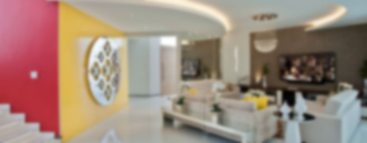 Salas de estilo  por Designer de Interiores e Paisagista Iara Kílaris