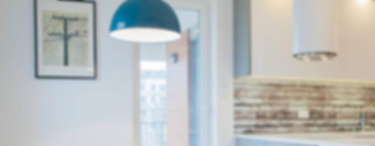 Scandinavian style dining room by DK architektura wnętrz Scandinavian