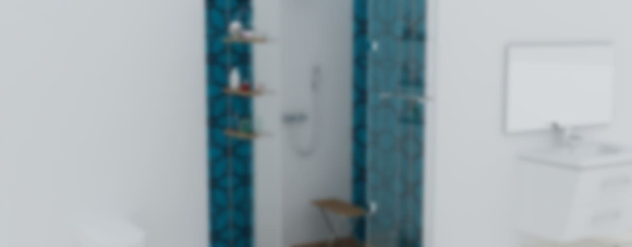 Baños modernos de Erdem Duşakabin Tasarım Atölyesi Moderno