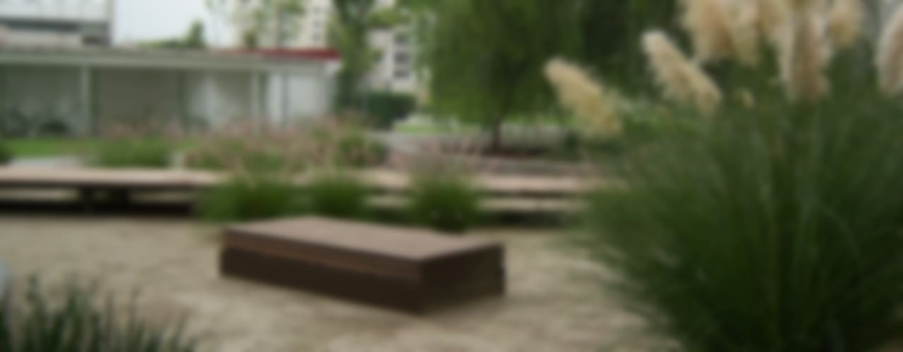 Parques Polanco - KVR Arquitectura de Paisaje : Jardines de estilo  por KVR Arquitectura de paisaje, Moderno