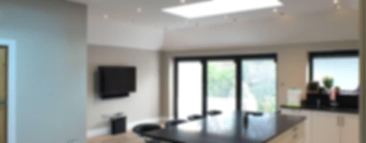6 m rear extension design and build Modern kitchen by Progressive Design London Modern
