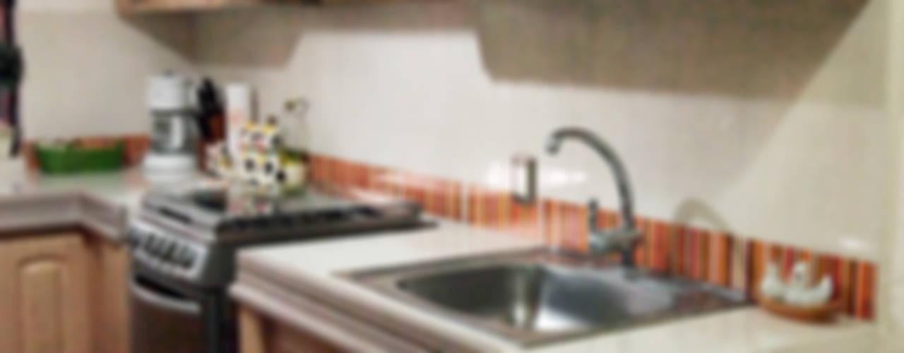 Cocinas de Amarillo Interiorismo Rústico