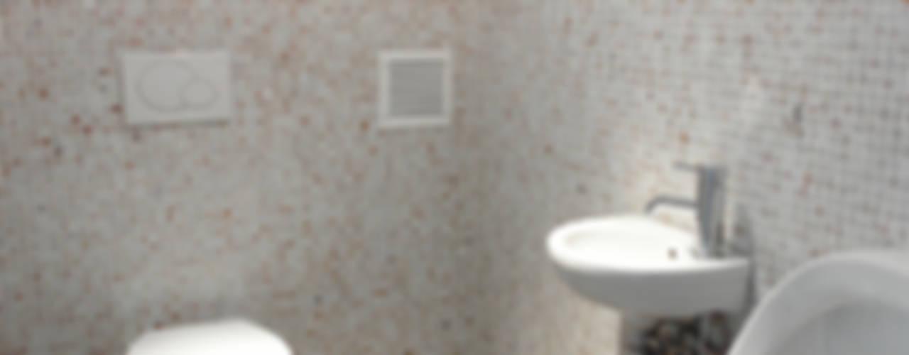 Paredes y pisos de estilo moderno de gup Moderno