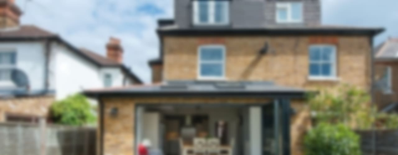 Refurbishment of late Victorian Property Modern houses by Corebuild Modern