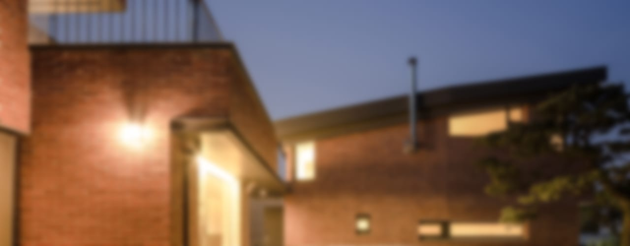 청주 죽림동주택: 유오에스건축사사무소(주)의  주택