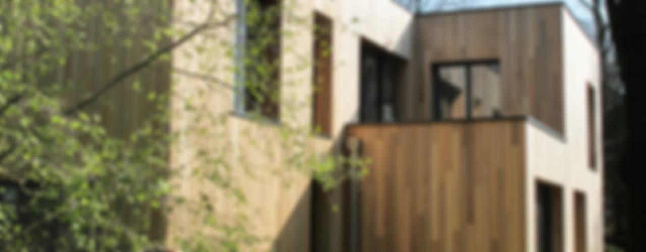 Maison au milieu des arbres Maisons modernes par F. DEMAGNY ARCHITECTE Moderne