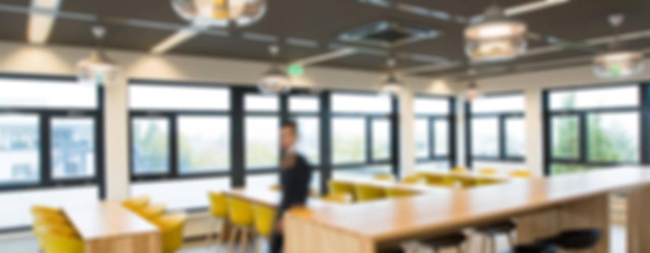 Kantoor Knijff trademark attorneys Moderne kantoor- & winkelruimten van ontwerpplek, interieurarchitectuur Modern