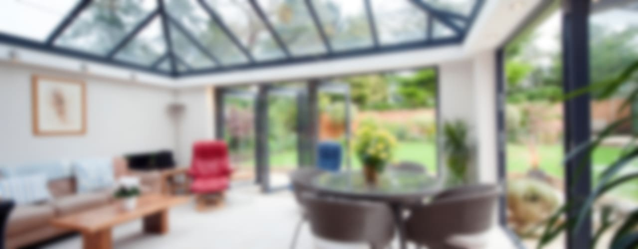 Modern Garden Room Modern conservatory by ROCOCO Modern