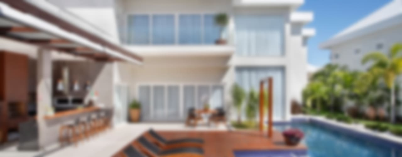 Casas modernas de ANGELA MEZA ARQUITETURA & INTERIORES Moderno
