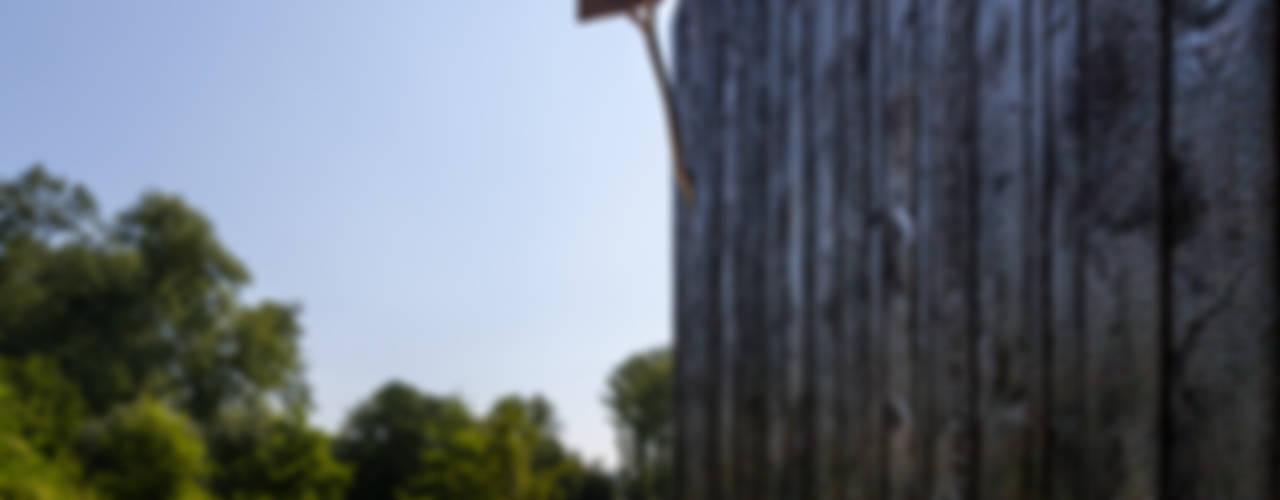 Geuloever:  Huizen door Zwarthout Shou Sugi Ban