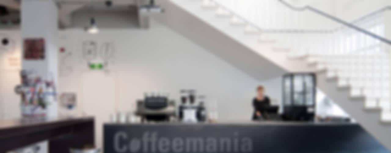 Coffeemania Moderne bars & clubs van ontwerpplek, interieurarchitectuur Modern