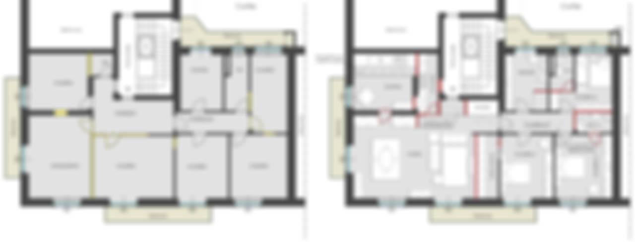 CASA PARISIENNE di Filippo Fassio Architetto Moderno