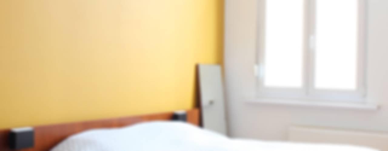 inrichten appartement te Antwerpen studio k Moderne slaapkamers