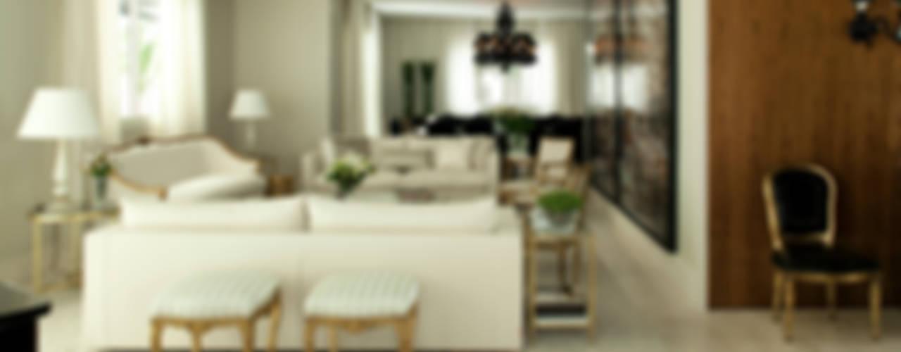 Wohnzimmer von Rafael Zalc Arquitetura e Interiores, Klassisch