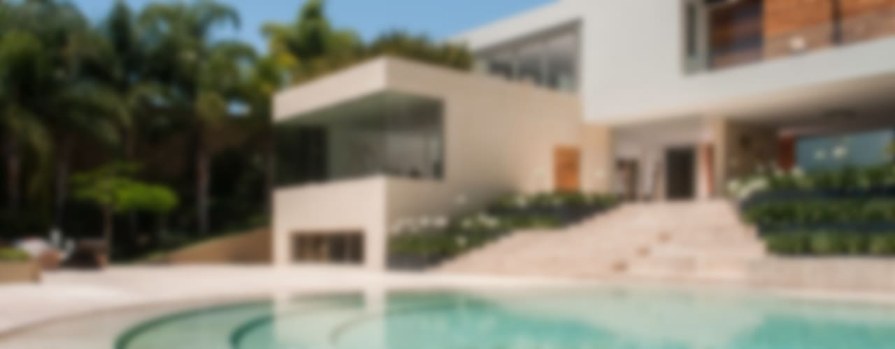Casa SJ: Albercas de estilo  por Gantous Arquitectos