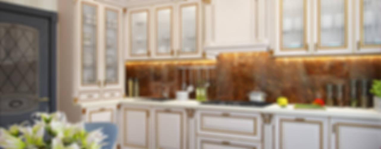 مطبخ تنفيذ Студия дизайна интерьера Маши Марченко, إنتقائي