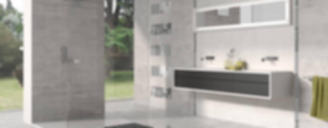Tendencias cerámicas Baños de estilo minimalista de Azulev Minimalista