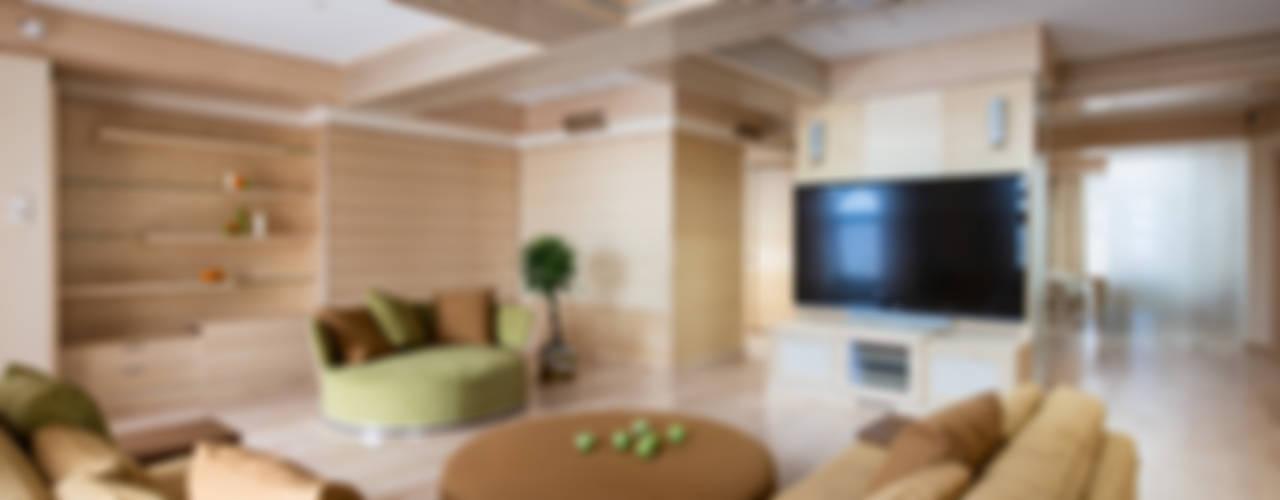 Апартаменты на Кутузовском: Гостиная в . Автор – Premier Dekor