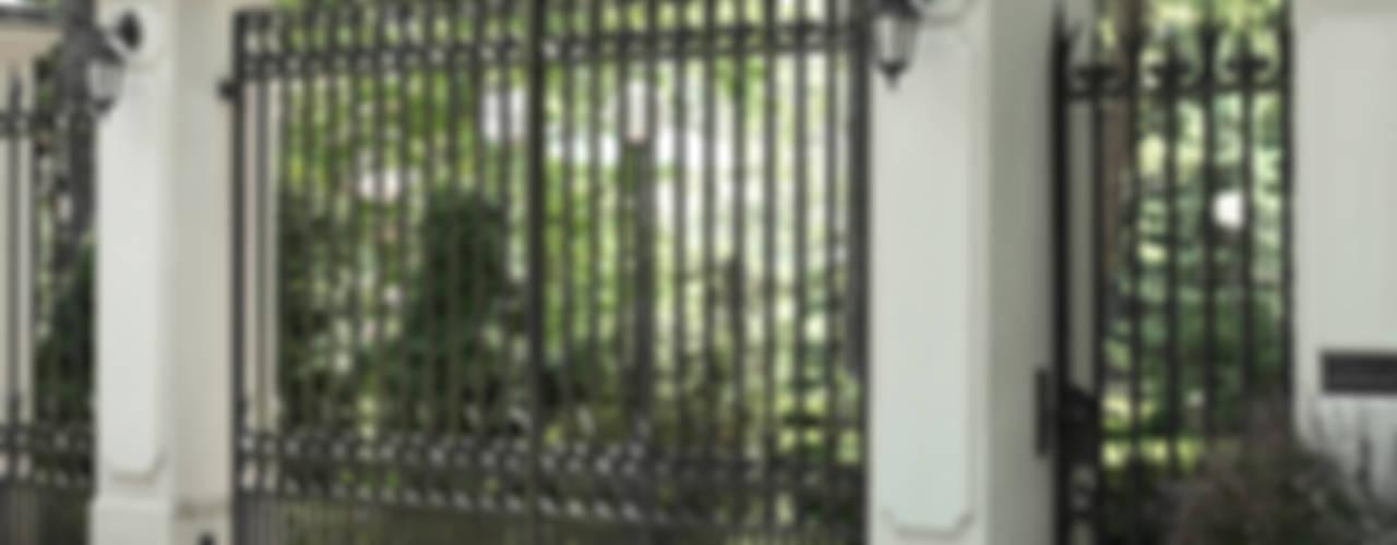 Brama wjazdowa - wzór G101 od ALMET Kowalstwo Artystyczne Klasyczny