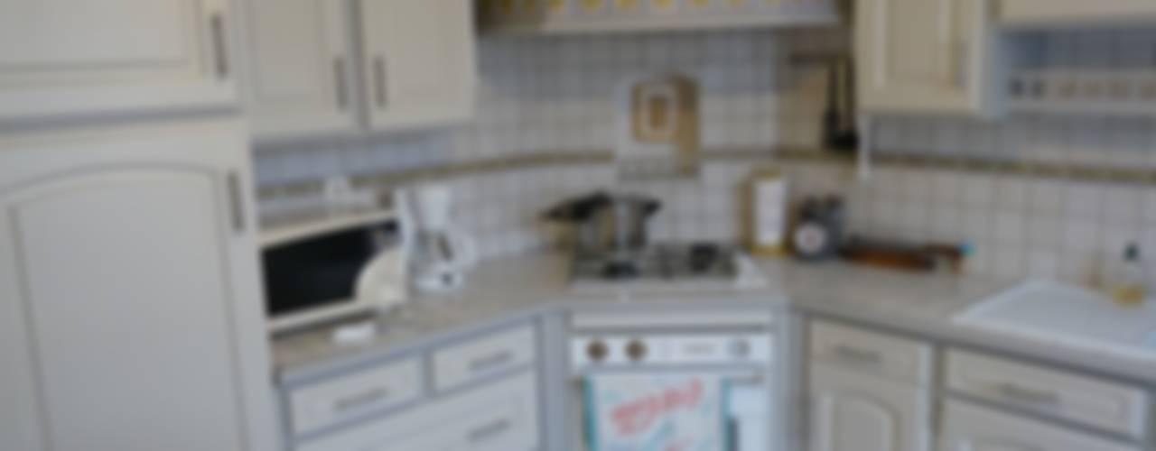 cuisine avant apres par L'atelier aux couleurs